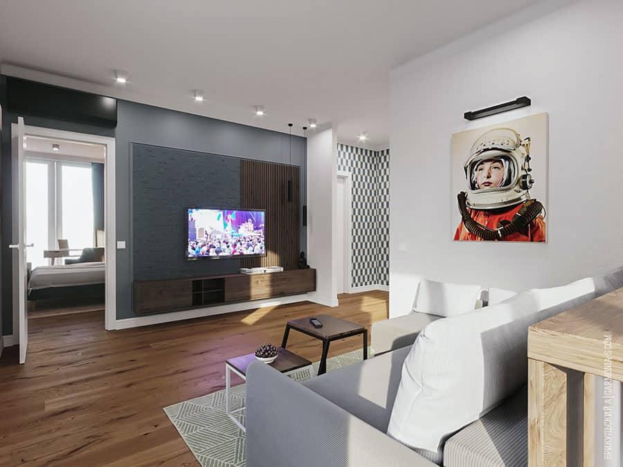Дизайн гостиной в Одессе