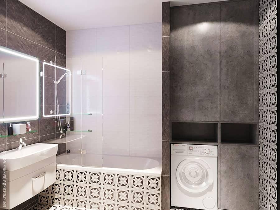 Дизайн ванной в Одессе