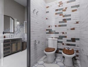Дизайн туалета в Одессе