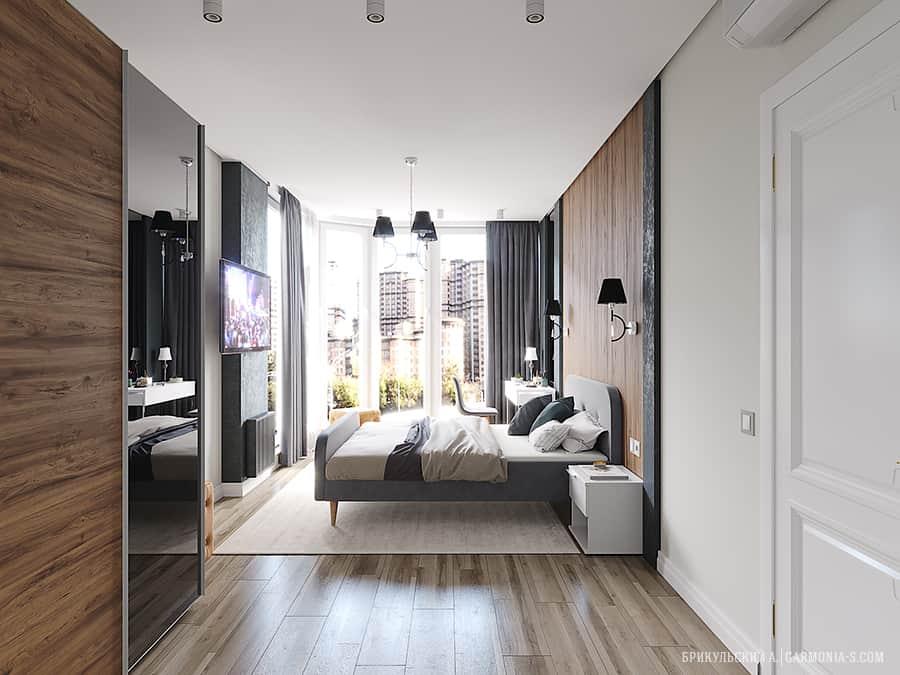 Хозяйской спальни интерьер