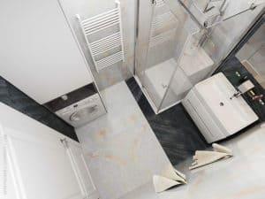 Современная ванная комната - интерьер