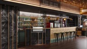 дизайн интерьера ресторана в современном стиле в Одессе