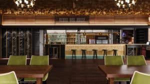 Дизайн ресторана на 50 мест с баром в Одессе